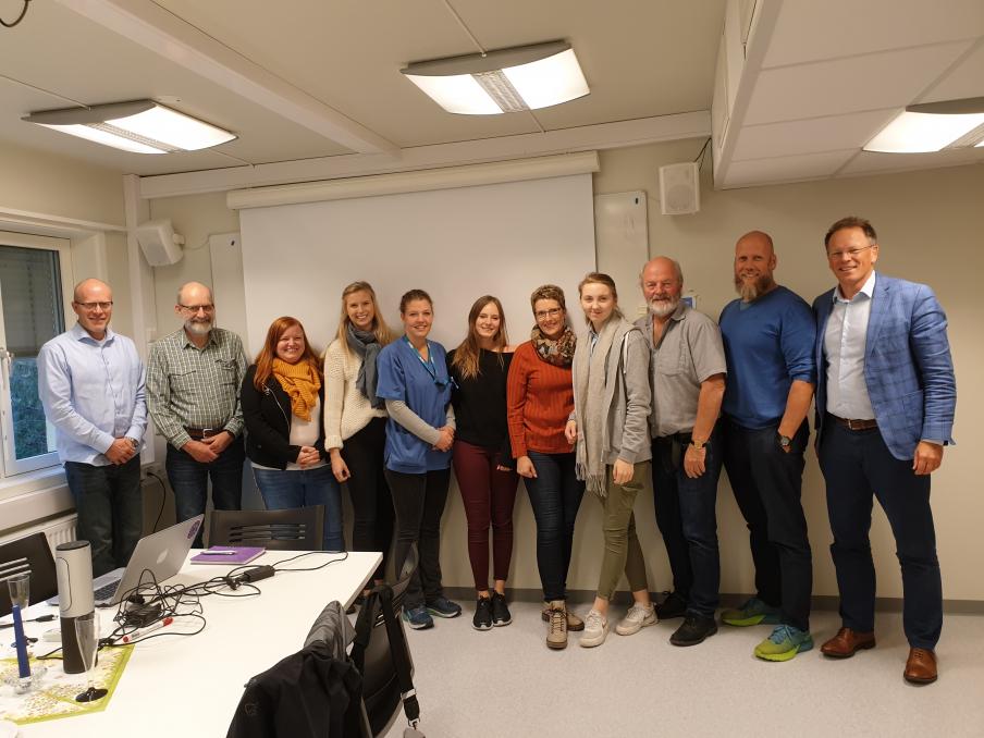 Integrasjonsgruppa bestående av representanter fra Lillehammer, TietoEVRY og Evondos
